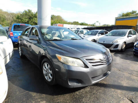 2011 Toyota Camry for sale at WOOD MOTOR COMPANY in Madison TN