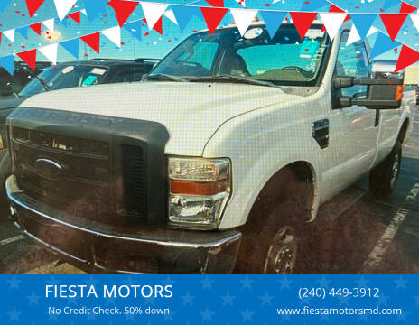 2008 Ford F-250 Super Duty for sale at FIESTA MOTORS in Hagerstown MD