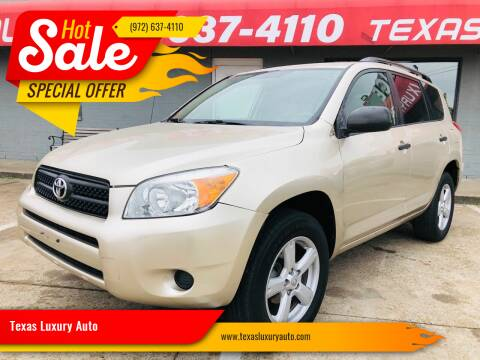 2007 Toyota RAV4 for sale at Texas Luxury Auto in Cedar Hill TX