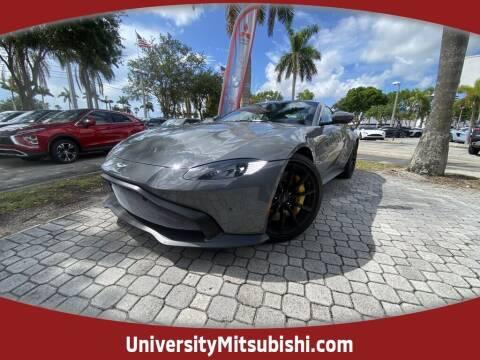 2019 Aston Martin Vantage for sale at University Mitsubishi in Davie FL