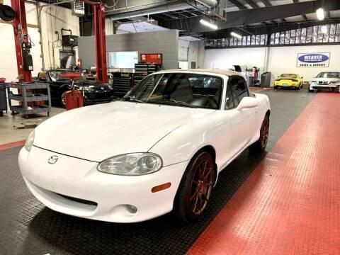 2001 Mazda MX-5 Miata for sale at Weaver Motorsports Inc in Cary NC