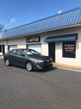 2012 Toyota Camry for sale at BRIDGEPORT MOTORS in Morganton NC