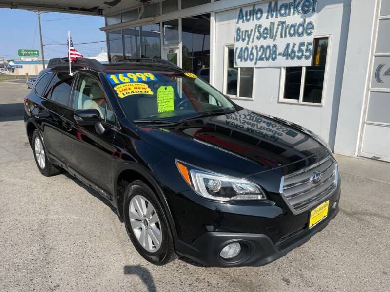 2015 Subaru Outback for sale at Auto Market in Billings MT