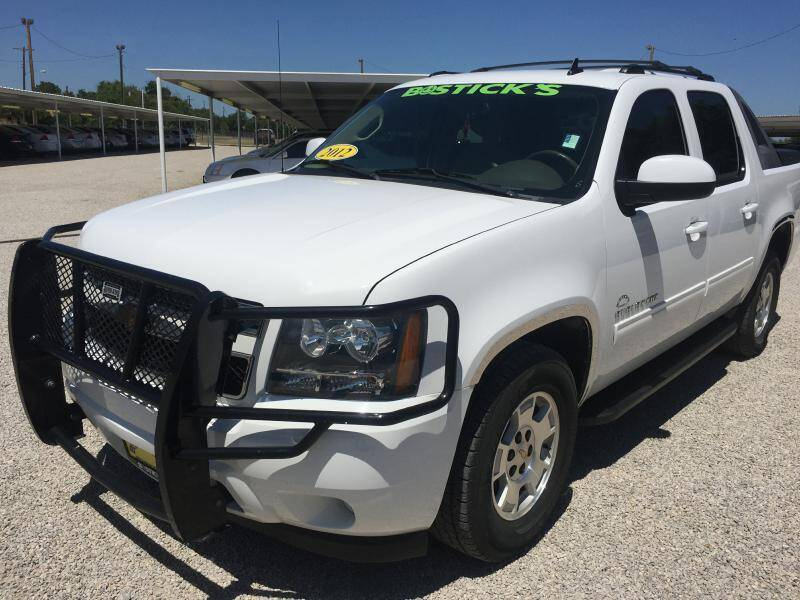 2012 Chevrolet Avalanche for sale at Bostick's Auto & Truck Sales LLC in Brownwood TX