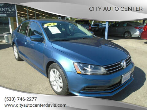 2018 Volkswagen Jetta for sale at City Auto Center in Davis CA