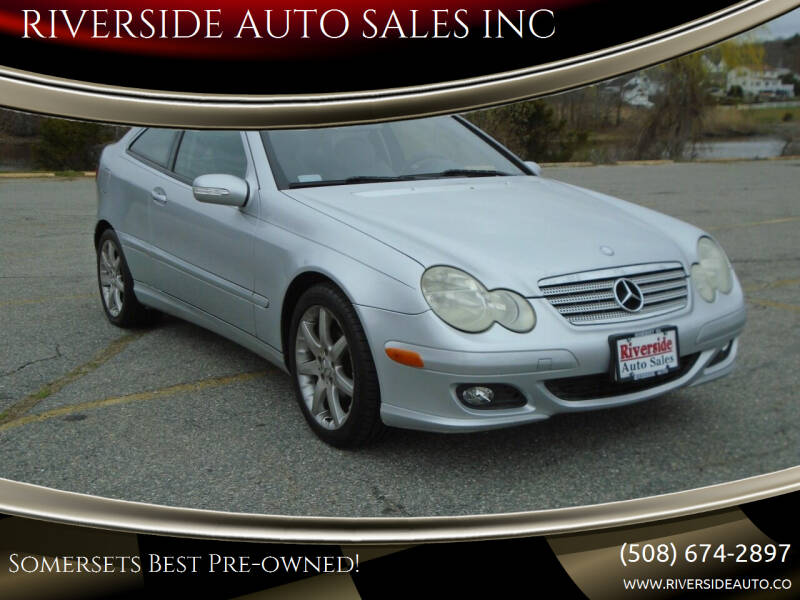 2005 Mercedes-Benz C-Class for sale at RIVERSIDE AUTO SALES INC in Somerset MA