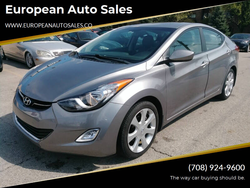2012 Hyundai Elantra for sale at European Auto Sales in Bridgeview IL