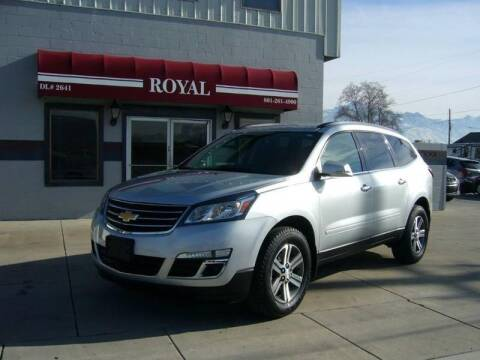 2017 Chevrolet Traverse for sale at Royal Auto Inc in Murray UT