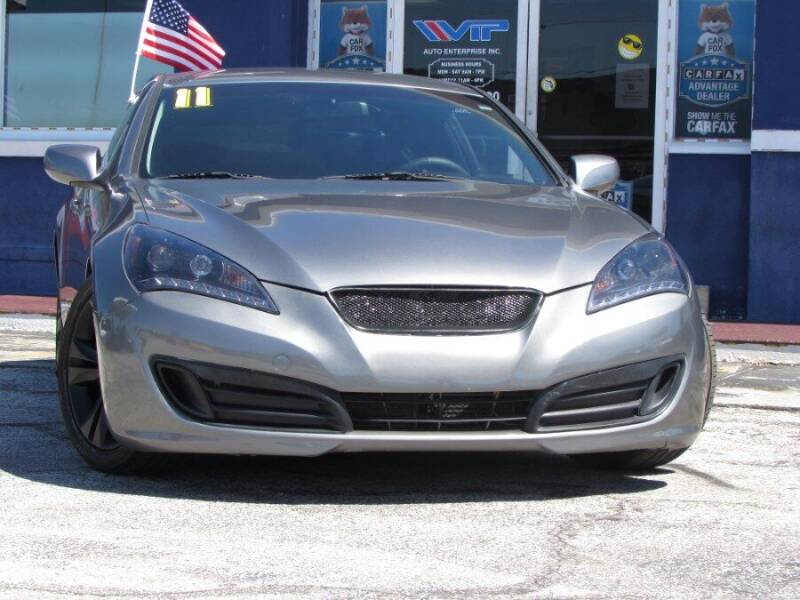 2011 Hyundai Genesis Coupe for sale at VIP AUTO ENTERPRISE INC. in Orlando FL