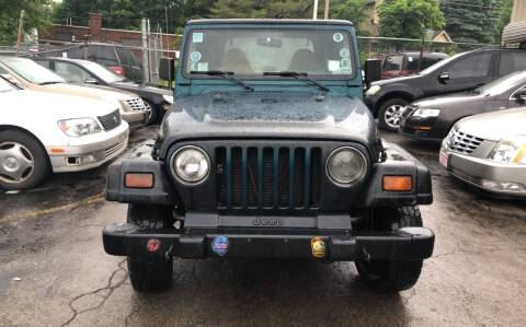 1998 Jeep Wrangler for sale at Six Brothers Auto Sales in Youngstown OH