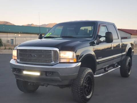2002 Ford F-350 Super Duty for sale at FRESH TREAD AUTO LLC in Springville UT