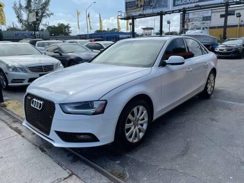 2013 Audi A4 for sale at AUTO ALLIANCE LLC in Miami FL