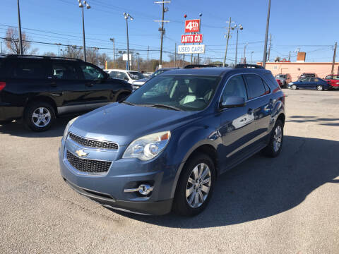 2011 Chevrolet Equinox for sale at 4th Street Auto in Louisville KY