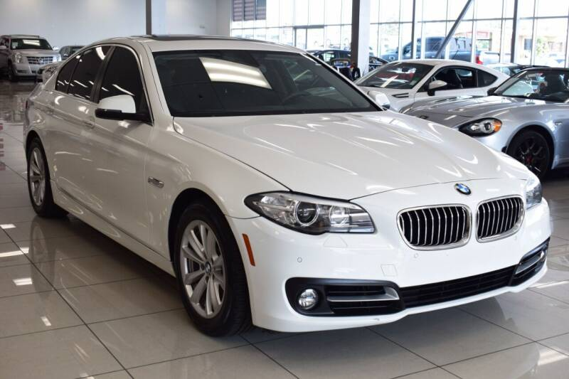 2015 BMW 5 Series for sale at Legend Auto in Sacramento CA