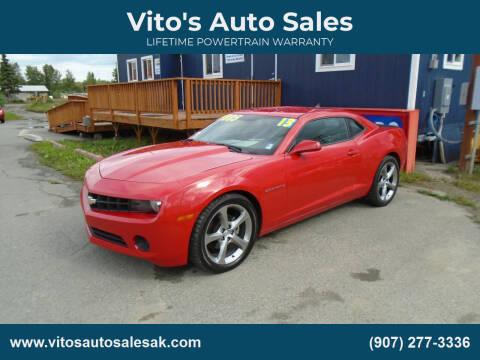 2013 Chevrolet Camaro for sale at Vito's Auto Sales in Anchorage AK
