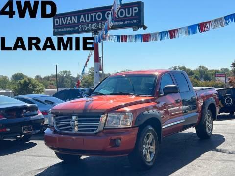 2008 Dodge Dakota for sale at Divan Auto Group in Feasterville Trevose PA
