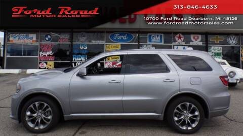 2020 Dodge Durango for sale at Ford Road Motor Sales in Dearborn MI