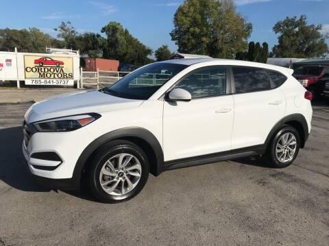 2016 Hyundai Tucson for sale at Cordova Motors in Lawrence KS