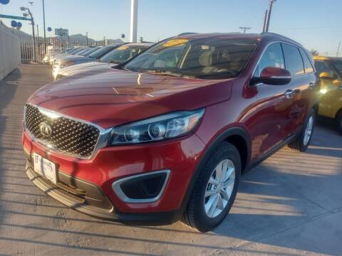 2016 Kia Sorento for sale at Hugo Motors INC in El Paso TX