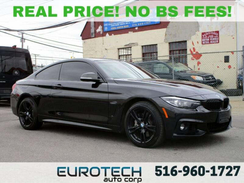 2019 BMW 4 Series for sale at EUROTECH AUTO CORP in Island Park NY