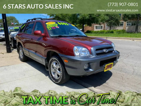2005 Hyundai Santa Fe for sale at 6 STARS AUTO SALES INC in Chicago IL