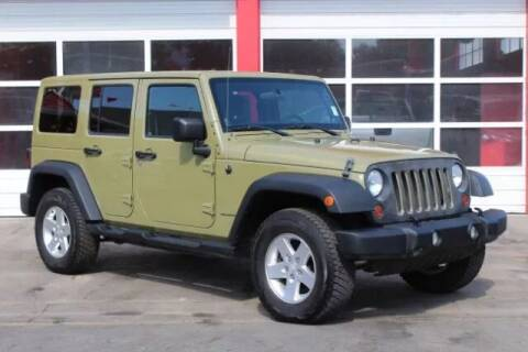 2013 Jeep Wrangler Unlimited for sale at Truck Ranch in Logan UT