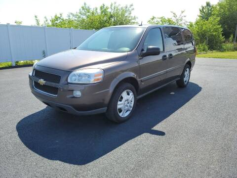 2008 Chevrolet Uplander for sale at Caps Cars Of Taylorville in Taylorville IL
