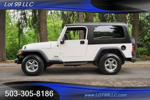 2006 Jeep Wrangler for sale at LOT 99 LLC in Milwaukie OR