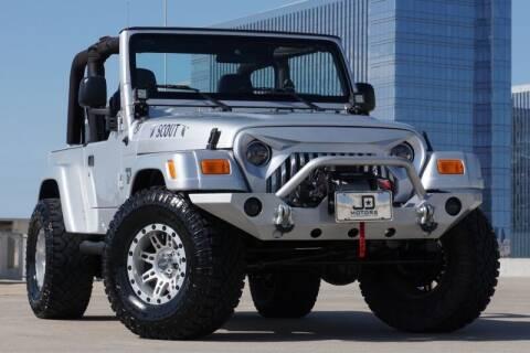 2005 Jeep Wrangler for sale at JD MOTORS in Austin TX