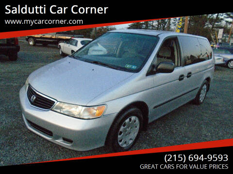 2001 Honda Odyssey for sale at Saldutti Car Corner in Gilbertsville PA