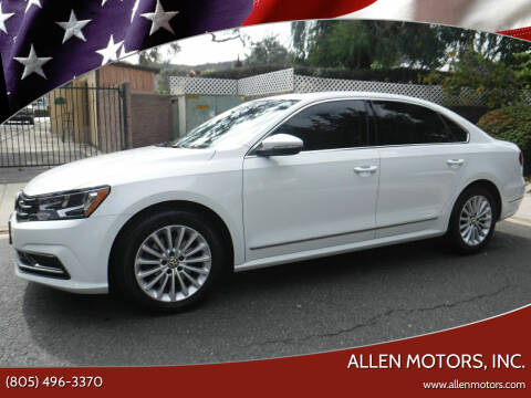 2017 Volkswagen Passat for sale at Allen Motors, Inc. in Thousand Oaks CA