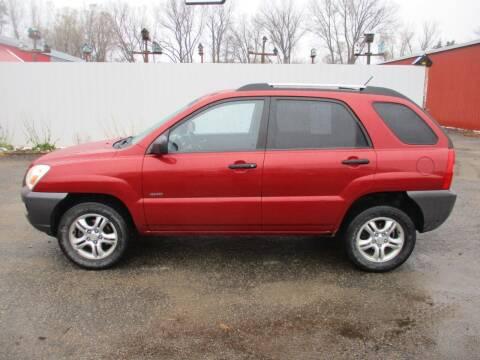 2008 Kia Sportage for sale at Chaddock Auto Sales in Rochester MN