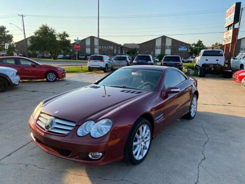2007 Mercedes-Benz SL-Class for sale at Car Gallery in Oklahoma City OK