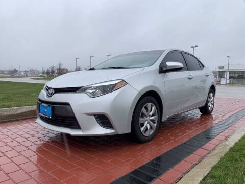 2016 Toyota Corolla for sale at BMW of Schererville in Shererville IN