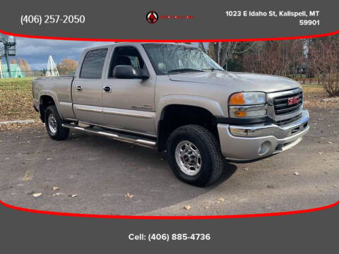 2005 GMC Sierra 2500HD for sale at Auto Solutions in Kalispell MT