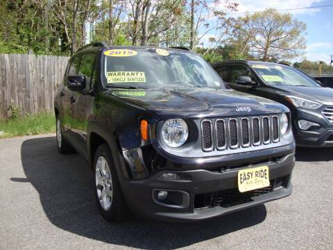 2015 Jeep Renegade for sale at Easy Ride Auto Sales Inc in Chester VA
