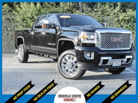 2016 GMC Sierra 2500HD for sale at Rockville Centre GMC in Rockville Centre NY