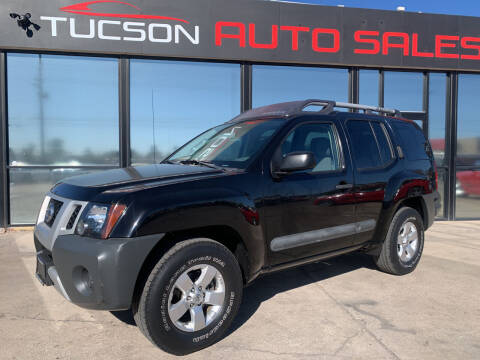 2013 Nissan Xterra for sale at Tucson Auto Sales in Tucson AZ