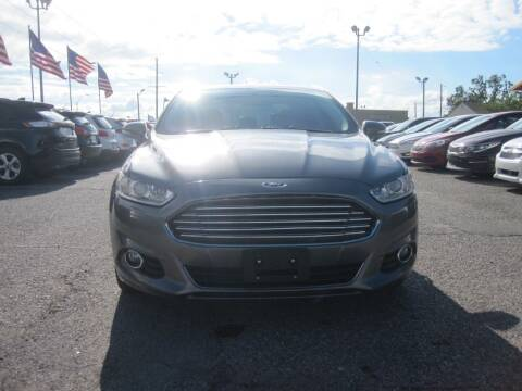 2014 Ford Fusion for sale at T & D Motor Company in Bethany OK