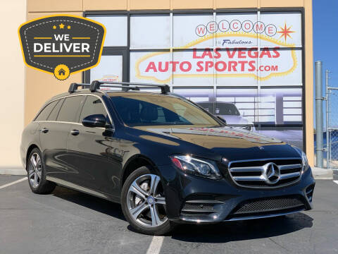 2017 Mercedes-Benz E-Class for sale at Las Vegas Auto Sports in Las Vegas NV