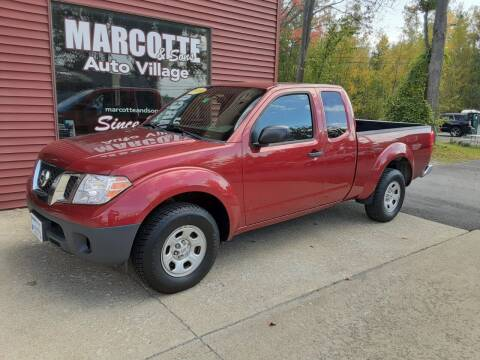 2014 Nissan Frontier for sale at Marcotte & Sons Auto Village in North Ferrisburgh VT