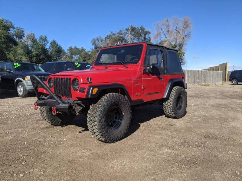 2002 Jeep Wrangler for sale at HORSEPOWER AUTO BROKERS in Fort Collins CO