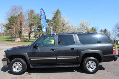 2005 Chevrolet Suburban for sale at GEG Automotive in Gilbertsville PA