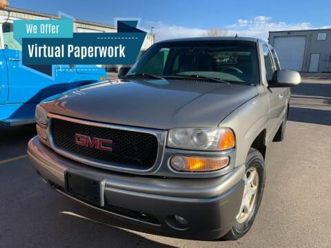 2001 GMC Sierra C3 for sale at Accurate Import in Englewood CO