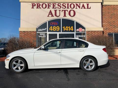 2014 BMW 3 Series for sale at Professional Auto Sales & Service in Fort Wayne IN