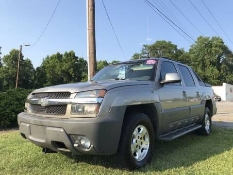 2002 Chevrolet Avalanche for sale at Deluxe Auto Group Inc in Conover NC