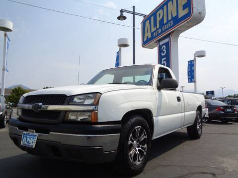 2003 Chevrolet Silverado 1500 for sale at Alpine Auto Sales in Salt Lake City UT
