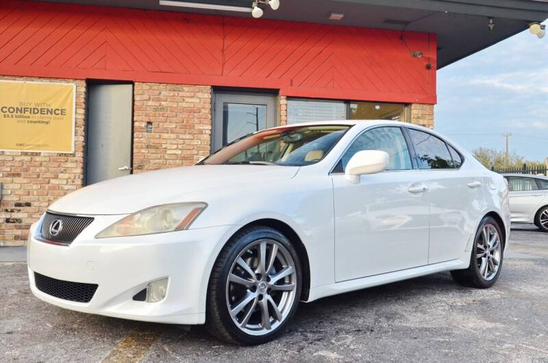 2008 Lexus IS 250 for sale at ALWAYSSOLD123 INC in North Miami Beach FL