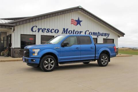 2016 Ford F-150 for sale at Cresco Motor Company in Cresco IA