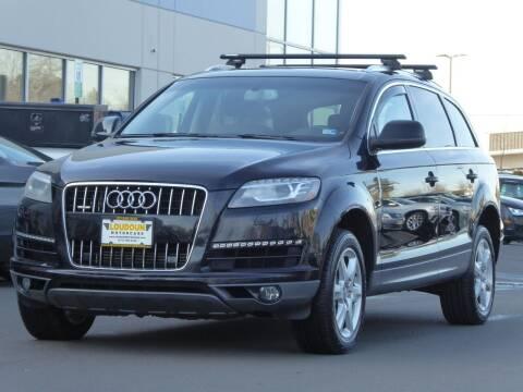 2012 Audi Q7 for sale at Loudoun Used Cars - LOUDOUN MOTOR CARS in Chantilly VA